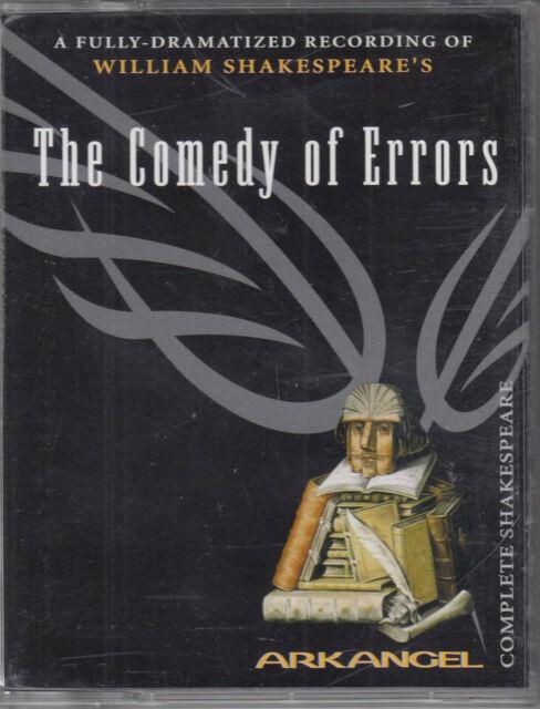 The Comedy of Errors William Shakespeare 2 Cassette Audio Drama David Tennant