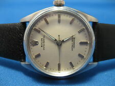 1956 ROLEX MENS OYSTER PERPETUAL 6556 TRU BEAT CAL 1040 CONVERSION WORKING WELL