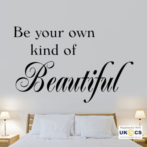 Wall Stickers Be Your Own Beautiful Art Decals Vinyl Decor Home Room Mural Quote