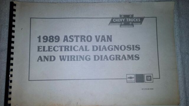 1989 Chevrolet Chevy Astro Van Electrical Diagnosis
