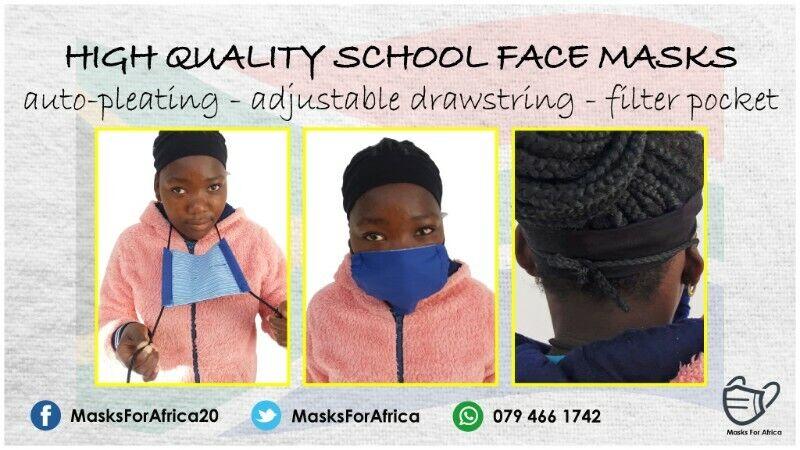 Back-to-School Cloth Masks