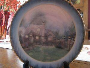 Image is loading Thomas-Kinkade-Decorative-Plate-034-Evening-At-Merriot- & Thomas Kinkade Decorative Plate