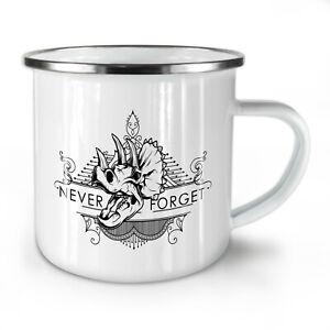Never Forget Animal NEW Enamel Tea Mug 10 oz   Wellcoda