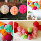 1XColorful Cool Honeycomb Ball Paper Lanterns Wedding Birthday Party Decorations