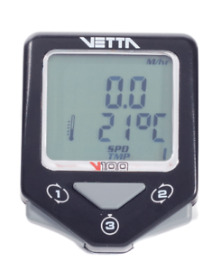 NEW VETTA CYCLE COMPUTER V100 WL2X DOUBLE WIRELESS SPEED & CADENCE