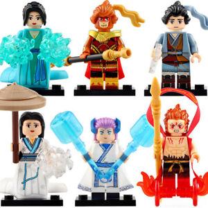 NEZHA LOL league of legends Minifigure Fits Lego MOC Sun Wukong Bai Suzhen GAME