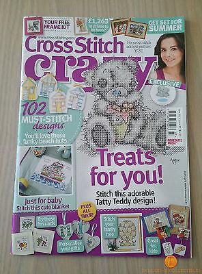 Cross Stitch Crazy Magazine - June 2013 - Issue 177 - Treats For You Tatty Teddy