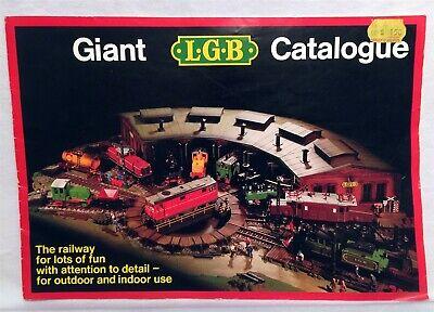 L.G.B 1981-1982 TRAINS Catalog 100 YEARS OF LEHMANN