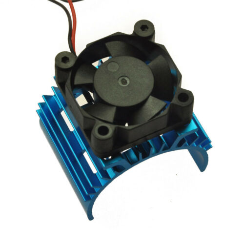 Aluminum Heat Sink Sinken Cooling Fan fr 540 550 Motor DC 5V 1:10 RC Car
