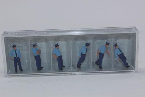 Los bomberos de 10342 figuras Preiser en verano uniforme H0 1 87 nuevo en caja orig.