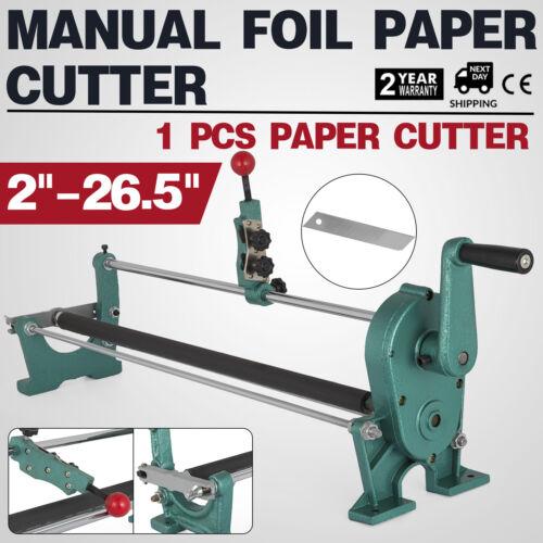 """26.5/"""" Guillotina Cortadora de Papel Máquina Foil Paper Cutter Cortador Cizalla"""
