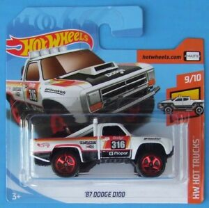 Hot-Wheels-2018-039-87-Dodge-d100-275-365-neu-amp-ovp