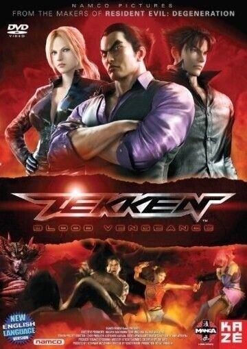 Tekken Blood Vengeance Japanese Animation Martial Arts Action