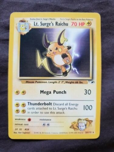 Pokemon Gym Heroes Cards Make your selection
