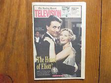 1992 Hackensack Sunday Record TV Mag(ADEN  GILLETT/STELLA  GONET/HOUSE OF ELIOTT