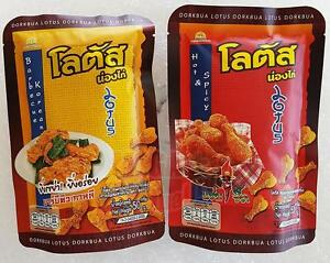 SET-Thai-Snack-Chicken-Flavour-Hot-Spicy-Barbecue-Korea-Seaweed-LOTUS-Dorkbua
