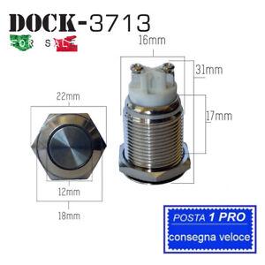 P11A-INTERRUTTORE-AUTOBLOCCANTE-PULSANTE-ON-OFF-0-220V-16MM-WATERPROOF-IP67