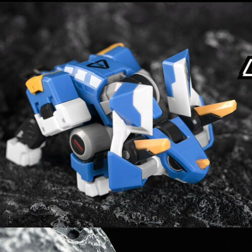 52TOYS BEASTBOX BB-05 Delta Set Mini Triceratops Robot Action Figure Toys New