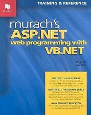 Murach's ASP.NET Web Programming with VB.NET Doug Lowe, Anne Prince Paperback