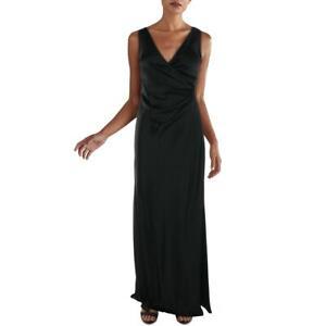Diane Von Furstenberg Womens Sura Sateen V-Neck Formal Evening Dress BHFO 2024