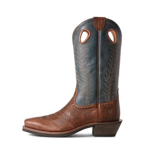 Ariat Ladies Blue Heritage Rancher Boots 10027372