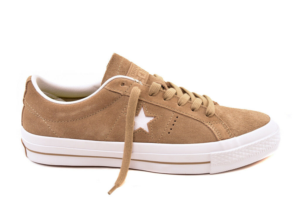 Converse Unisex One Star Suede OX 153965C Sneakers BCF81 Sandy/White UK 6  BCF81 Sneakers dc615b