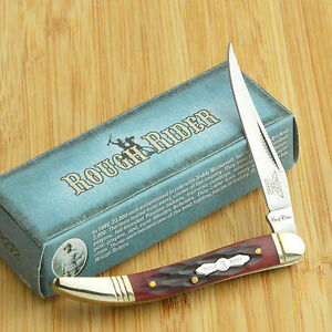 Rough-Rider-Red-Jigged-Bone-Baby-Toothpick-Folding-Pocket-Knife-RR272