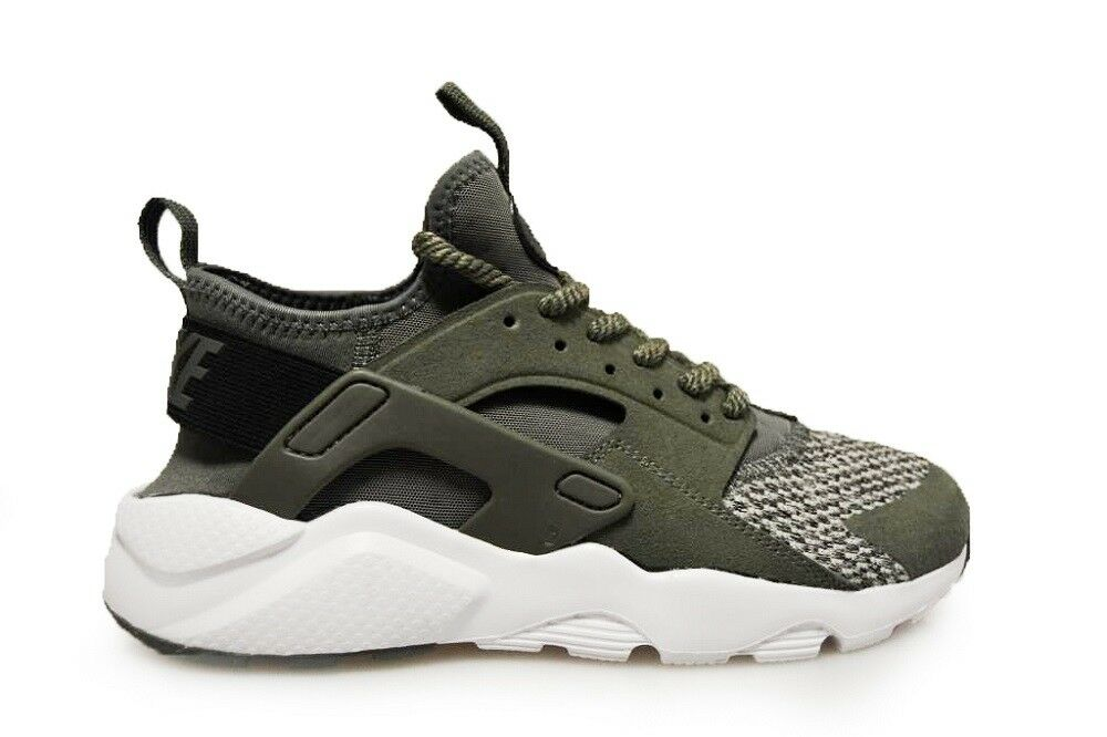 Juniors Nike Air Huarache Run Ultra SE - 942121 005 - River Rock Black Cobblesto