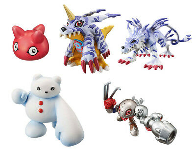 Bandai Digimon capsule mascot collection ver.6.0 Gashapon 5 set mini figure