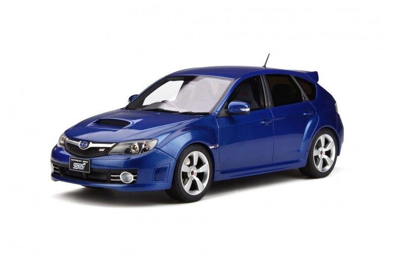 Otto bilene Subaru Impreza WRX STI 2008 1 18 blå glimmer