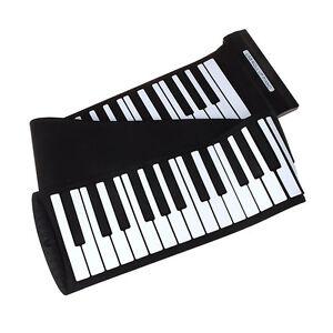professional flexible midi roll up electronic keyboard piano usb 88 keys. Black Bedroom Furniture Sets. Home Design Ideas
