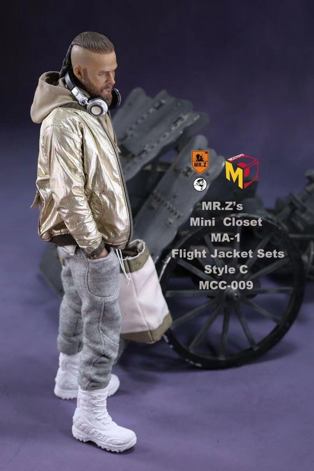 Mcctoys M. Z 1 6 MCC009 Veste Chemise Pantalon Veste De Vol Jouet Figure modèle