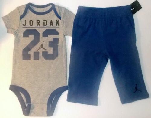 Air Jordan Infant Boys 2pc Bodysuit and Pants Sets 4 Various Choices /& Sizes NWT