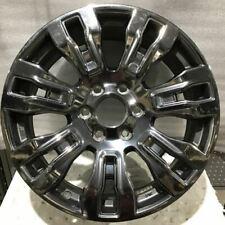 2017 2020 Nissan Titan Armada Black Chrome 62704 Wheel 20 Rim Oem 40300ez01d Fits Nissan Titan
