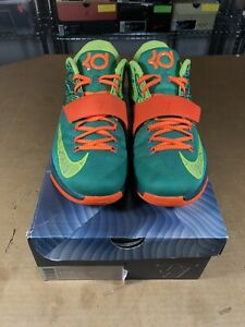 best service c3602 67814 Image is loading 100-Authentic-Nike-Kd-7-Weatherman-Size-10-