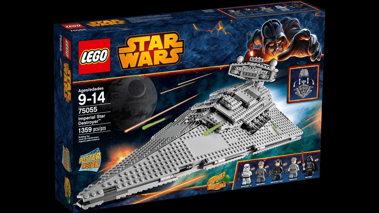 Lego Star Wars 75055 IMPERIAL STAR DESTROYER Darth Vader NISB Xmas Gift Present