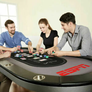 ESPN-10-Player-Premium-Poker-Table-With-In-Laid-LED-Lights-No-Assembly-Required