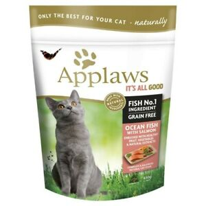 Applaws Grainfree Ocean Fish With Salmon Dry Cat Food 450 gram