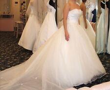 Morilee Wedding Dress and Crinoline Petticoat Slip - Size 6