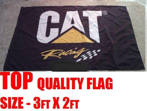 FLAG 5FT X 3FT HSV CAT RACING CATERPILLAR MAN CAVE DIESEL POWER TRUCK PRIME MOVE