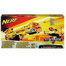 NERF 61983 N-Strike 2in1 Longshot CS-6 Dart Gewehr Softdart Blaster Sniper