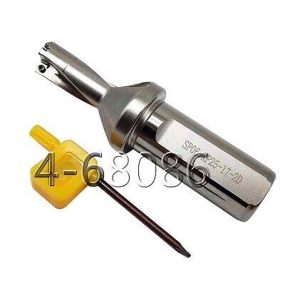 Φ17.5-2D-C25 U Drill 17.5mm-2D indexable drill bit  for wcmx03 insert