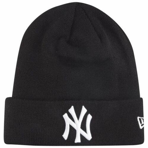 New Era Wintermütze Beanie CUFF New York Yankees schwarz