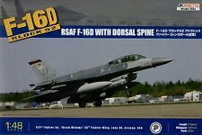 Kinetic 1/48 F-16D Block 52 RSAF w/ dorsal fin # 48007