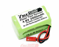 Ni-MH 4.8V 2000mAh Emergency Light Exit Sign Rechargeable Battery AA4SXSYP US/RU