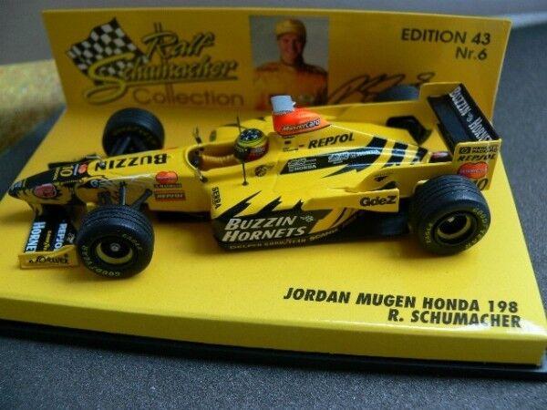 1 43 Minichamps Jordan Mugen Honda 198 R. Schumacher  10