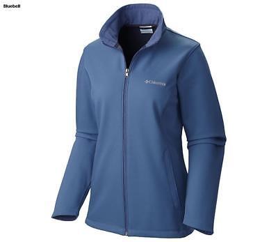 Light Blue pick a size NWT Columbia women/'s Kruger Ridge Softshell Jacket