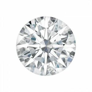 0.50CT Forever Brilliant Moissanite Loose Stone Round Cut 5mm Charles /& Colvard
