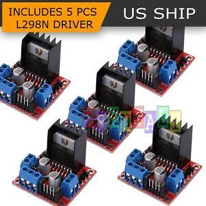 5X-Dual-H-Bridge-DC-Stepper-Motor-Driver-Controller-Board-Module-Arduino-L298N
