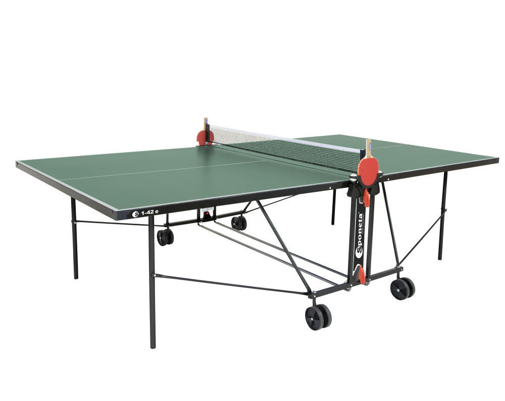 Sponeta S 1-42 e grün im Set outdoor Tischtennisplatte Tischtennisplatte Tischtennisplatte mit Hülle u Schlägerset    Won hoch geschätzt und weithin vertraut im in- und Ausland vertraut    Deutschland    Trendy  bf1629